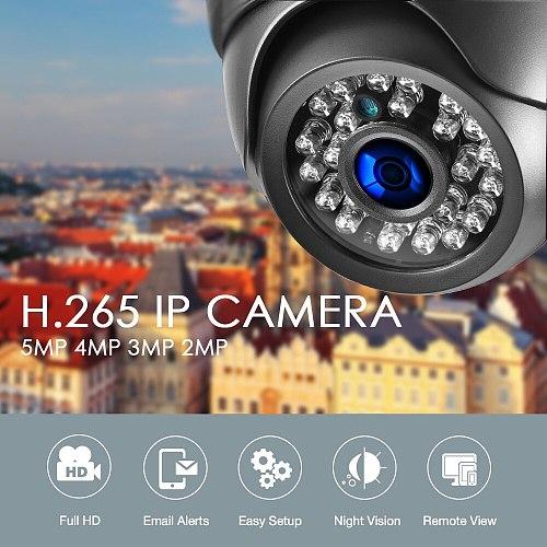 Gadinan IP Camera 5MP 2592*1944P SONY IMX335 Night Vision Audio Micphone Dome 3MP 2MP Full HD PoE Security Surveillance Camera