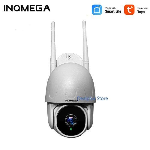 TUYA CAMERA Smart Mini Cloud 1080P PTZ Dome Wifi Camera Outdoor 2MP Auto-Tracking Google Home Alex Speed Dome Camera