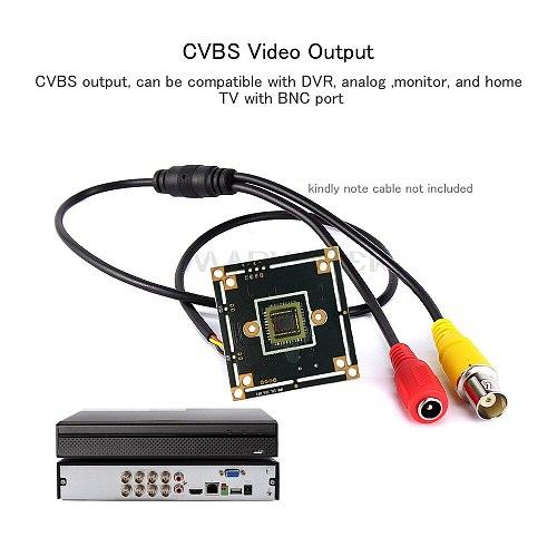 CCTV Camera Module CMOS Sensor Analog Camera Board Camera 700TVL Analog Motion Sensor Mini CVBS Security System For Analog DVR