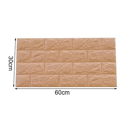Modern Vintage Brick Textured Wallpaper Embossed 3D Wall Paper Rolls For Bedroom Living Room Sofa TV Background Home Decor