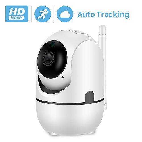 BESDER 1080P Auto Tracking PTZ AI IP Camera WiFi Cloud Storage CCTV Home Surveillance IP Camera WiFi Two Way Audio Motion Alarm