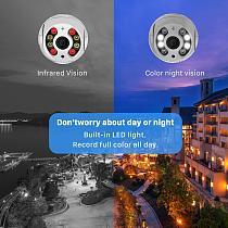1080P HD 4X Zoom PTZ IP Camera WiFi Outdoor Ai Detection Alert 3MP CCTV Camera Color IR Light Audio Security Surveillance Camera