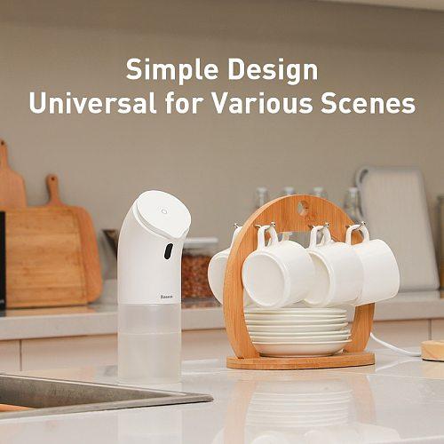 Baseus Automatic Soap Dispenser Infrared Sensor Touchless Foam Liquid Soap Dispenser Pump Hand Wash Sanitizer Dispenser Bottles