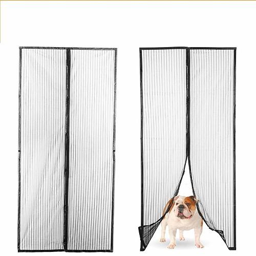 Magnetic Anti-Mosquito Screen Door Anti Mosquito Insect Fly Bug Mesh Curtains Door Screen Automatic Closing Netting Magnets
