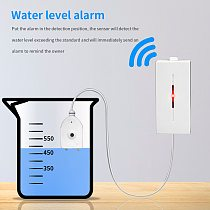 eWelink Water Level Leakage Water Leak Sensor Detector Alarm Overflow Security System works with SONOFF Bridge Smart Home