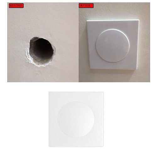 6 Types Plastic Wall Wire hole cover Air-conditioning Pipe Plug Dust Cover Decorative grommet Cable protector Furniture Hardware