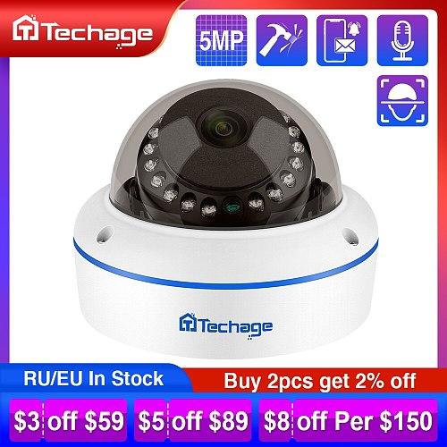 H.265 4MP 5MP 48V POE IP Camera 3.6mm Dome Indoor Outdoor VandalProof Audio Record P2P ONVIF CCTV Security Video Surveillance