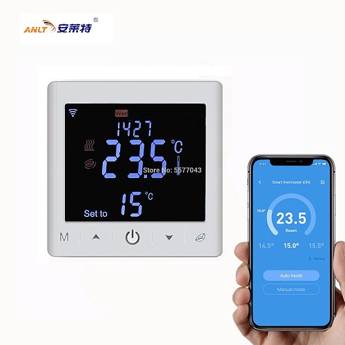 Wifi Thermostat Temperature Controller With Touch Screen For Electrical Underfloor Heating