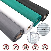 1-3 Meters 20 Meshes Nano Fly Mosquito Screen Net Washable Mesh For Door Window, Protect Baby & Family From Insect And Bug New