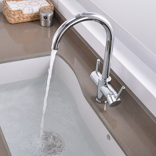 drinking Water Purification Tap Beige&Chrome Kitchen sink Faucet mixer Design 360 Degree Rotation filtered Kitchen Faucet