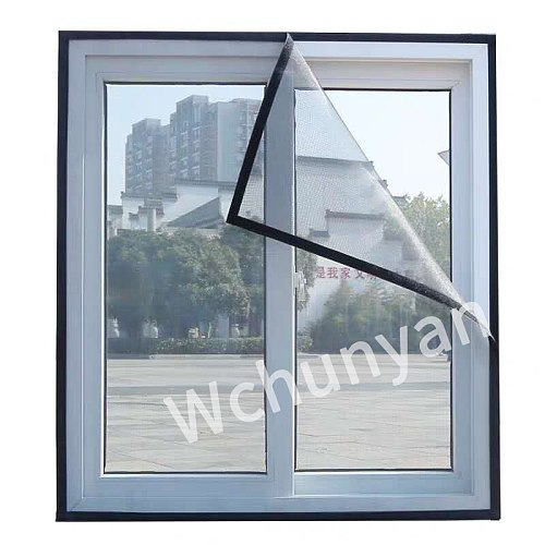 Custom window mosquito net encryption anti-mosquito net self-adhesive invisible screen window anti-mosquito screen insect