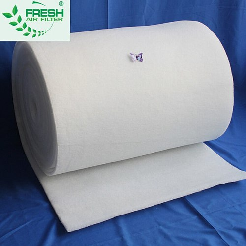 6mm thickness can clean air conditioning air inlet primary effect filter cotton fan baking paint room air filter cotton X-041