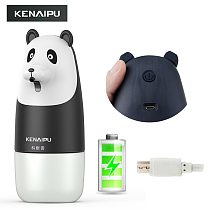 KENAIPU Automatic Foam Soap Dispenser,Cartoon Induction Liquid Hand Washing Machine,USB Charge,Intelligent foam hand washing