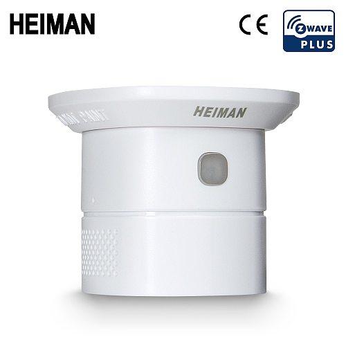 HEIMAN Zwave Carbon Monoxide Sensor Z-Wave CO detector smart house Security Protection Sensitive Alarm system Z wave network