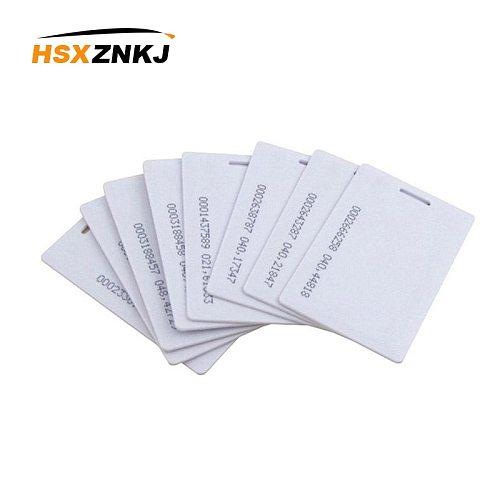 5pcs/10pcs RFID 1.8mm EM4100 Tk4100 125khz Access Control Card Sticker Key Fob Token Ring Proximity Chip