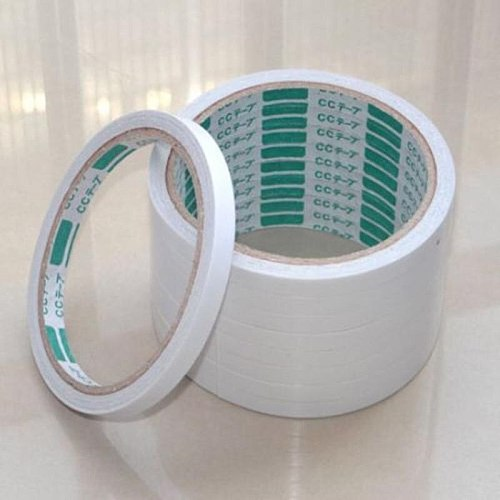 8mm 5 Rolls Double-sided White Super Strong Adhesive Tape washi tape set Stationery store for decorative Sticker scrapbooking