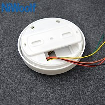wired smoke detector support NC / NO woring cable smoke fire alarm detectors easy installation