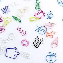TUTU 30PCS/lot Kawaii random Shape Bookmark Clip Memo Clip Paper Clip Bookmark DIY Novelty Office Sales promotion H0185