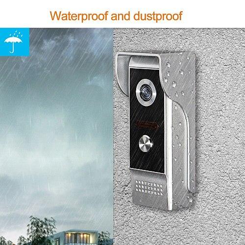 OBO Video Door Phone Doorbell Outdoor Camera IR Night Vision 700TVL Waterproof Video Intercom System Doorphone for Home