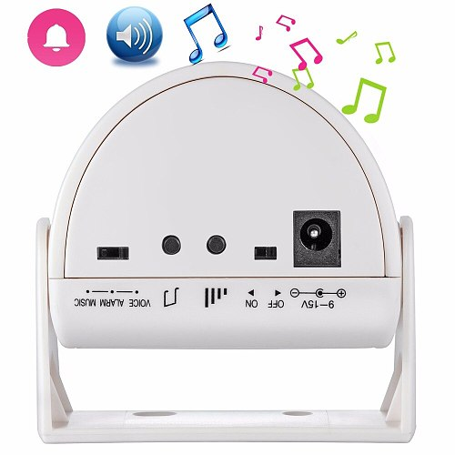 32 Songs Welcome Infrared Chime Doorbell Wireless Loudly Adjustable Volume Door bell Motion Detector Alarm For Home Shop Store