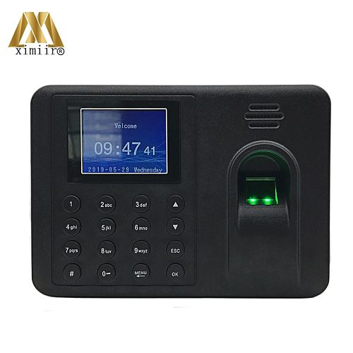 Biometric Fingerprint Time Attendance System Electronic Machine MK-500 Time Attendance In Fingerprint Recognition Device