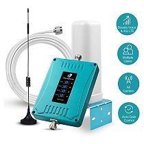Full Band Mobile Cell Phone Signal Booster for US 700/850/1700/1900MHz 3G 4G LTE Cellular Repeater for All Carriers Verizon AT&T