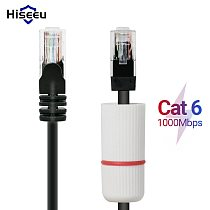 Hiseeu Cat6 Ethernet Cable RJ45 50M 20M Lan Cable for CCTV Camera CCTV Security Camera System 65ft 164ft RJ45 Network Cord