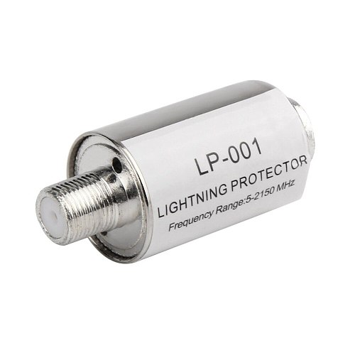 Satellite Antenna Lighting Protector Coaxial Satellite TV Lightning Protection Devices Lightning Arrester 5-2150MHz DropShipping