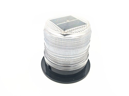 6 colors LED Solar waterproof Flash Warning Light Ceiling strobe light  with Strong magnetic  traffic and road Beacon Light
