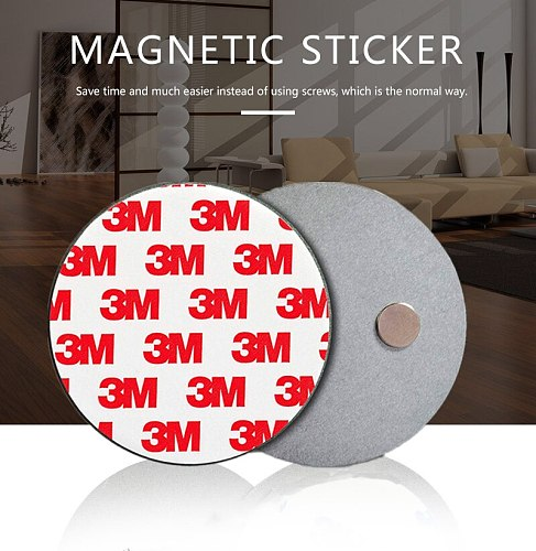 Fire alarm smoke detector magnet holder smoke alarm sensor magnetic sticker on smoke detector