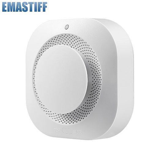 Independent/Tuya WiFi Smoke Detector Smoke house Combination Fire sensor Home Security System Smoke Alarm Fire Protection