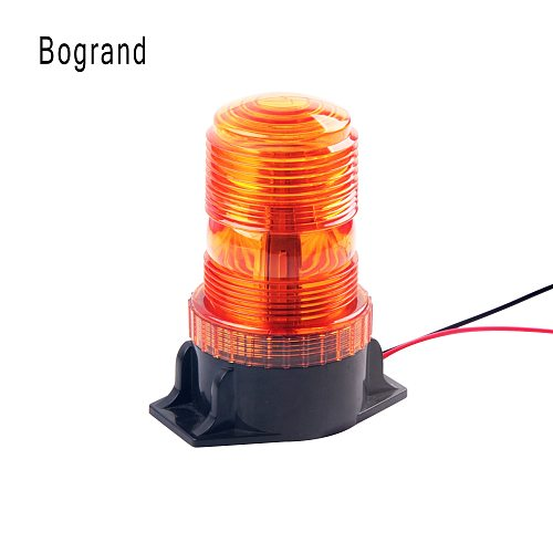1Pcs 30LED 5730 Car LED Strobe Warning Amber Beacon Light 12V-36V For Tractor SUV School Bus