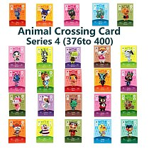 Series 4 (376 to 400) Animal Crossing Card Amiibo locks nfc Card Work for NS Games Series 4 (376 to 400)