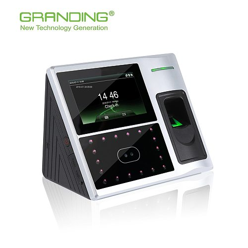 Face and  fingerprint  recognition time attendance access control optional wifi for office employees