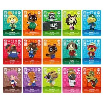 New Horizons Amiibo Animal Crossing Card For NS Switch 3DS Game Marshal Card Set NFC Cards Series 1 (001 to 030)