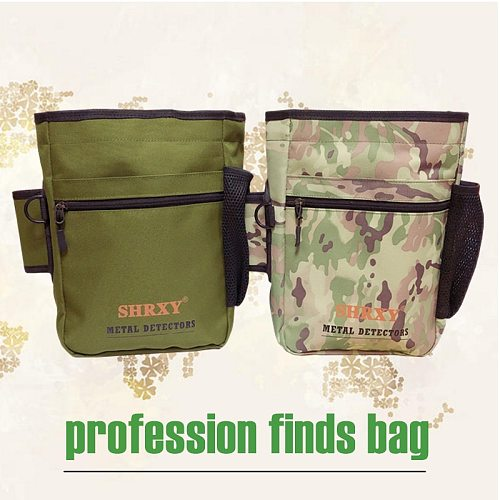 Metal Detecting Gold Finds Bag Multipurpose Digger Pouch for PinPointer Xp ProPointers Detector Waist Pack Mule Tools Bag