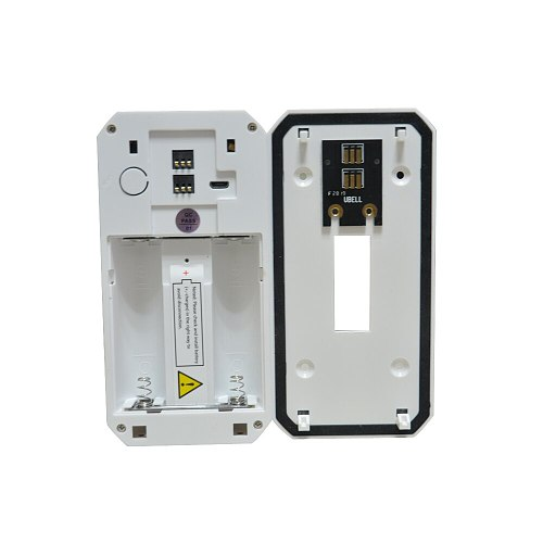 Tuya Smart life Home Wireless doorbell WIFI video door phone night vision camera talkback intercom audio recorder PIR Motion