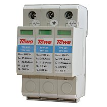 TOWE AP - C25 YPV600 PV systems 600V DC System Power Class C protection, 3 modulus, Imax: 25KA, Up: 2.2V  Thunder protector
