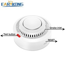 Tuya WiFi Smoke Alarm Fire Protection Smoke Detector Smokehouse Combination Fire Alarm Home Security System Firefighters