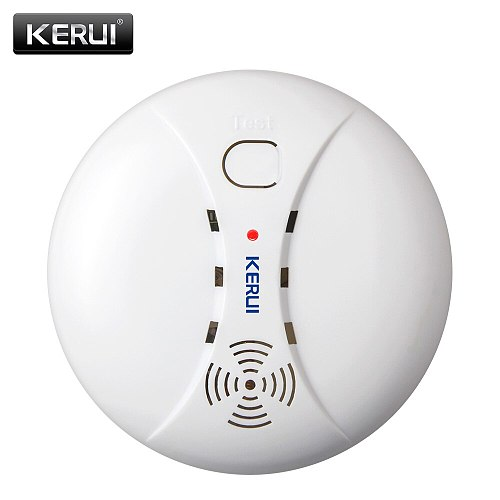 KERUI Wireless Smoke Detector Portable Alarm Sensors For Fire Protection Home Security Alarm System In Our Store