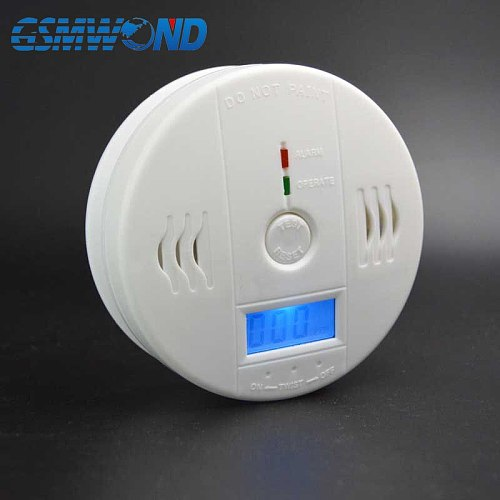 Carbon Monoxide Gas  Detector Suitable install in the kitchen Beep sound alarm display gas concentration Protect your home