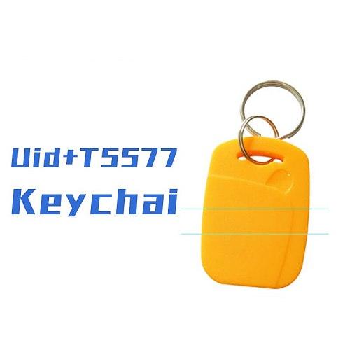 10/20/50pcs  Ic Id Composite Buckle NFC Dual Frequency 125 Khz T5577 Em4305 +13.56 Mhz Rewritable Dual Chip RFID Key Tag