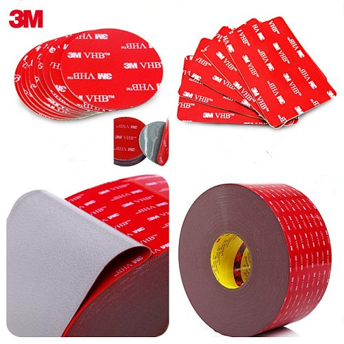 Wholesale 3M VHB 5608 High Performance Indoor Outdoor Use Gray 3M Tape Waterproof Acrylic Foam Double Side Tape,die cut any size