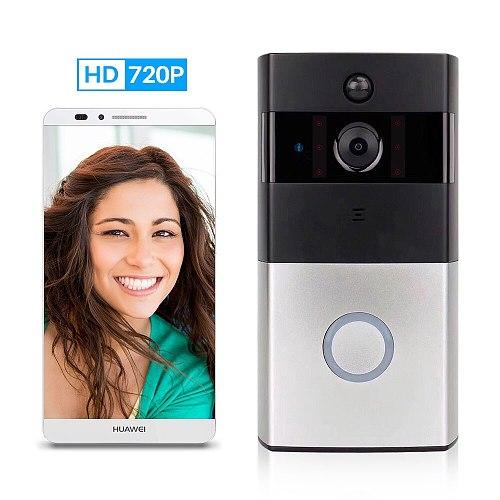 Home WiFi Wireless Video Intercom Smart Camera IP Monitor Night 720P Door bell Video Doorbell Two-Way Audio APP Control