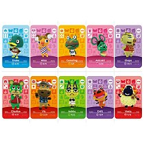 Series 3 (181 to 210) Animal Crossing Card Amiibo Card Work for NS 3DS Game New Horizons Ankha Freya Kid Cat Villager Card
