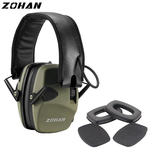 ZOHAN Electronic Earmuff NRR22DB Ear Cup for Single Microphone Hunting Earmuffs Tactical Shooting Hearing Protection Replacement