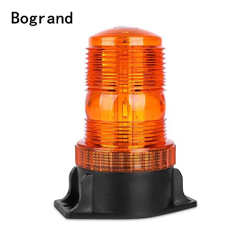 1Pcs 30LED 5730 Car LED Flashing Amber Beacon Flexible Warning Light 12V-36V For Tractor SUV Boat