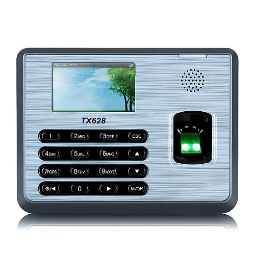 ZKTime 5.0  Fingerprint Attendance System TX-628 Biometric Fingerprint Reader Fingerprint Time Clock System