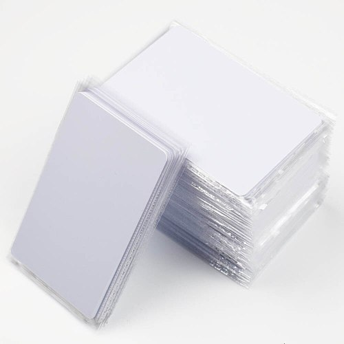 100pcs IC Card KeyFobs S50 1K Chip 13.56MHz RFID Cards for Access Control