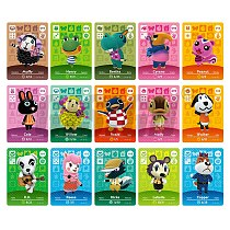 New Horizons Amiibo Animal Crossing Card For NS Switch 3DS Game Marshal Card Set NFC Cards Series 1 & 2 (091 to 120)